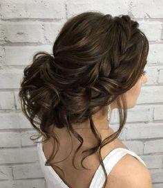 53 Box Braids Hairstyles That Rock - Hairstyles Trends Wedding Hairstyles Half Up Half Down, Braided Hairstyles For Wedding, Box Braids Hairstyles, Winter Hairstyles, Trendy Hairstyles, Hairstyles 2018, Braided Updo, Half Updo, Homecoming Hairstyles