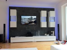 Entzuckend 35 Einzigartig Deko Wandsteine Wohnzimmer Tv Wand Trockenbau, Wand Ideen,  Wandsteine, Wandgestaltung,