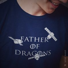 Father of Dragons #SpaceX #Dragon #Space