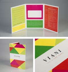 Viani Corporate and Brand Identity by Gary Corr, via Behance
