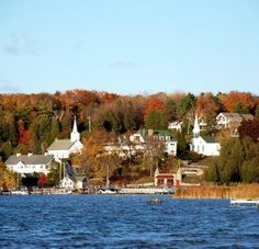 Wisconsin's Door County: A great spot for fall color. (Photo Courtesy of Door County Visitor Bureau). Read about more fall color highlights: http://www.midwestliving.com/travel/around-the-region/28-great-midwest-spots-to-see-fall-color/page/7/0#