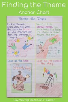 Check out these ideas for teaching theme including free printables. Great for upper elementary and middle school students.