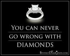 www.beverlydiamonds.com Posts, Engagement Rings, Diamond, Jewelry, Enagement Rings, Messages, Jewels, Schmuck, Anillo De Compromiso