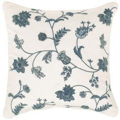 Patmos Emboidered Linen Cushion Cover