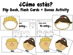 Polka Dot Monthly Headers {In Spanish} | Pinterest