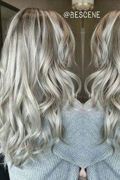21 Najlepših Srebrno sivih ombre balayage kolora-eFrizer