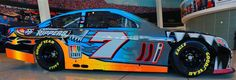 Jayski's® NASCAR Silly Season Site - 2016 NASCAR Sprint Cup Series #7 Paint Schemes