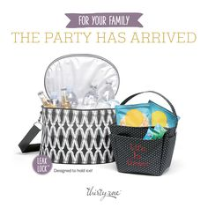Everyone needs a Family Fun Thermal! It features the new Leak Lock Lining which holds ICE! www.kathyblonbags.com