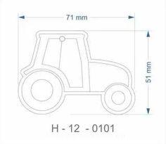 Helkur traktor 71x51mm - http://www.reklaamkingitus.com/et/helkurid/?page=2