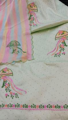 Dress Design Patterns, Hand Embroidery Design Patterns, Kurti Embroidery Design, Flower Embroidery Designs, Embroidery Fabric, Embroidery Suits Punjabi, Embroidery On Kurtis, Embroidery On Clothes, Embroidery Fashion