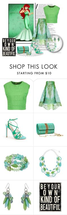"""Be Your Own Kind Of Beautiful"" by leanne-mcclean ❤ liked on Polyvore featuring Giambattista Valli, Peter Pilotto, Stuart Weitzman and Erica Lyons"