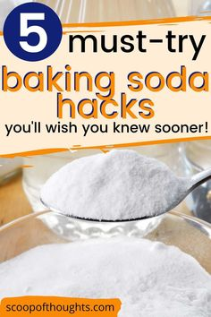 From being a key ingredient to cake and cookies to a cleaning material capable of wonders, the baking soda has been known to have a lot of applications in and out of cooking. We have happily compiled a few of these baking soda hacks and we would be happy to share this morsel of knowledge with you. lifestyle tips #bakingsoda #homehacks #hacks #BakingPowderUses Baking Soda For Cooking, Baking Powder For Cleaning, What Is Baking Soda, Baking Soda For Skin, Baking Powder Uses, Baking Soda Health, Baking Soda On Carpet, Baking Soda Uses, Home Baking
