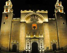 Catedral de San Ildefonso.Merida Yucatan