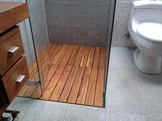 Pisos para ducha Home Design Decor, Bathroom Interior Design, Diy Home Decor, Room Decor, House Design, Living Room Wood Floor, Boat Interior, Shed Homes, Bathroom Renos