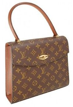 ShopStyle.com: very good (VG) Louis Vuitton Monogram Canvas Malesherbes Kelly Tote Bag $489.00