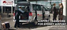 Redland Shuttle: Airport Transfer service Sydney most popular service, the Airport Shuttle is a dedicated shared airport transfer service to and from Sydney Airport #ShuttleServiceSydney #AirportTransfer