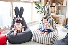 Kinderzitzakken van Rabito | Interieur inrichting