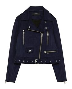 FAUX SUEDE BIKER JACKET-JACKETS-WOMAN | ZARA Greece