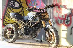 Ducati Multistrada Scrambler by Behind Bars Customs