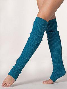 Long Leg Warmer | American Apparel