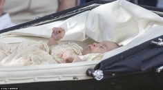 Today was only the second time that Princess Charlotte, who was born in May, has been seen...