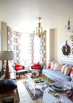 Meredith Heron Design - Spruce Street Residence eclectic living room