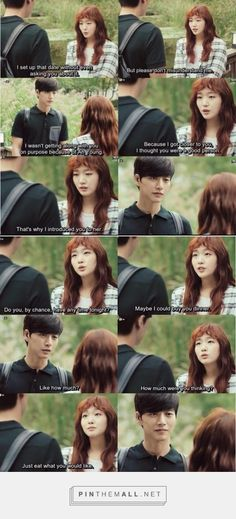 """I'm just waiting for someone to say that to me """"Just eat whatever you want, I'm paying it!""""😂😂😂 - Cheese In The Trap"""