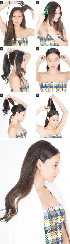Hair How-To  A New Twist on Half-Up Hair