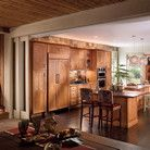 Kraftmade A large open kitchen benefits from dual islands, not just for food preparation, but by giving friends and family a place to gather.