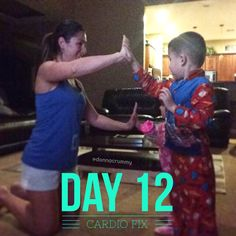 #21dayfix Day12 with my cheerleaders