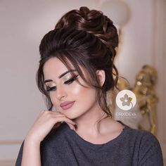 Read more about wedding hairstyles classic hairstyles thin Bridal Hair Buns, Bridal Hair And Makeup, Hair Makeup, Elegant Wedding Hair, Wedding Hair Down, Wedding Hairstyles For Long Hair, Bride Hairstyles, Indian Bridal Hairstyles, Quinceanera Hairstyles