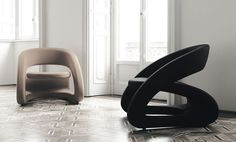 """Smile"" - Modern Armchair from BBB emmebonacina"