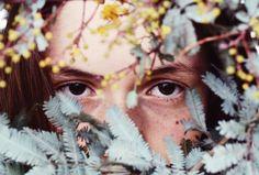 #photo #eyes #flowers #love