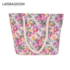 78fd2e75154c Cheap bag large size, Buy Quality chain bag directly from China brand  shoulder bag Suppliers: BEARBERRY 2017 printing flowers canvas shopping  bags brand ...