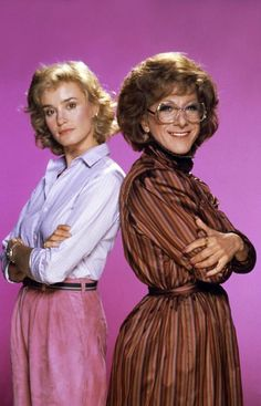 TOOTSIE, from left: Jessica Lange, Dustin Hoffman, 1982. ©Columbia Pictures