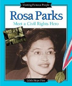 Rosa Parks: Meet a Civil Rights Hero Rosa Parks Book, Civil Rights Movement, Bus Driver, Alabama, Famous People, Acting, Meet, Reading, Books