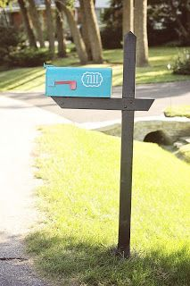 look how easy it is to install your mailbox Modern House Numbers