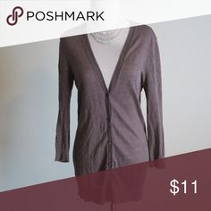 Ann Taylor Medium Sweater Cardigan Material: 55% Ramie, 45% Viscose. Great condition Ann Taylor Sweaters Cardigans