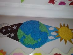 day and night bulletin board ideas Preschool Education, Baby Education, Holiday Crafts For Kids, Crafts For Kids To Make, Science Projects, School Projects, Montessori Art, Space Activities, Preschool Letters