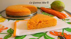 La torta di carote è un dolce soffice e delicato.
