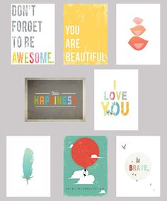 Take a look at this Inspired Mini Print Set by Children Inspire Design on #zulily today!