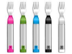 HAPIfork Bluetooth-Enabled Smart Fork, http://www.amazon.com/dp/B00FRPCPEC/ref=cm_sw_r_pi_awdm_mDZXtb1H55VDT