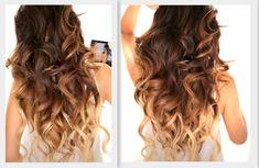 BIG FAT Voluminous #CURLS #hair tutorial | #hairstyles