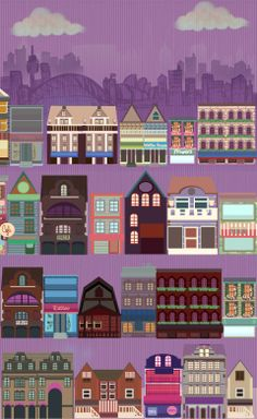Sydney city,illustration,house,icon