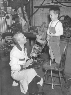 A boy receives a brace for his leg at the Shriners's Hospital in Springfield, MA