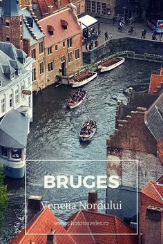 Bruges, o destinatie pentru calatorul ce vrea liniste, farmec medieval, mancare buna, ciocolata belgiana si o plimbare pe canale printre cladiri vechi. #Bruges #Belgium #Travel #StreetPhotography #TravelPhotography #travelblogger Bruges, Journey, World, Movies, Movie Posters, Art, Art Background, Film Poster, Films