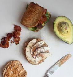 Breakfast sandwich fixings