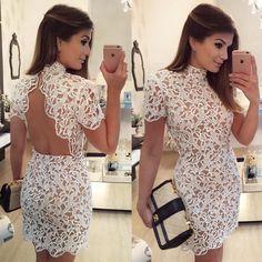 {Lace } Vestido @rocklola_  Não sei se amo mais as costas ou a frente! ❤️ Disponivel online: www.rocklola.com.br