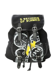 5 Seconds Of Summer Symbols Slouch Backpack at hottpic