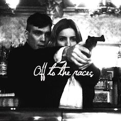 Again Grace Burgess (Annabelle Wallis) and Tommy Shelby (Cillian Murphy) in BBC Peaky Blinders
